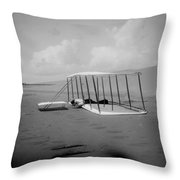Wright Brothers 1 Throw Pillow