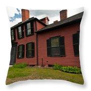 Wright's Tavern - Concord Throw Pillow