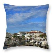 Wrightsville Beach - North Carolina Throw Pillow