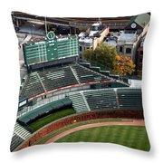 Wrigley Field Chicago Sports 04 Throw Pillow