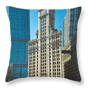 Wrigley Framed Throw Pillow