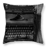 Write Me Throw Pillow