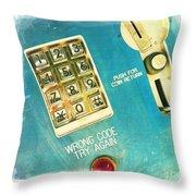Wrong Code Throw Pillow