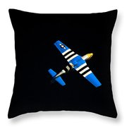 Wrong Side Up Throw Pillow