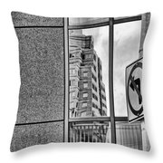 Wrong Way Throw Pillow