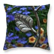 Wrought Iron Garden Throw Pillow
