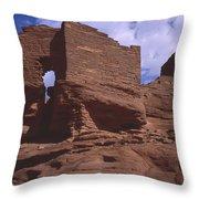 Wukoki Ruin 1 Throw Pillow