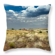 Wupatki National Monument Box Canyon Area Ruins Throw Pillow