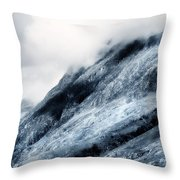 Wuthering Heights. Glencoe. Scotland Throw Pillow by Jenny Rainbow