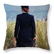 Ww II Shipping Out Throw Pillow