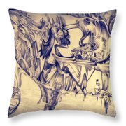 WW3 Throw Pillow