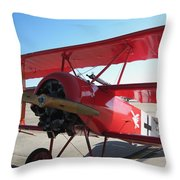 Wwi German Fighter Throw Pillow