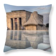 Wwi Museum  Throw Pillow by Lisa Plymell