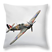 Wwii Fighter Plane The Hurricane Throw Pillow