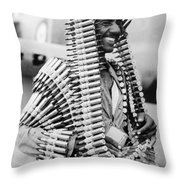 Wwii Fighters In Africa Throw Pillow