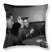 Wwii: Tuskegee Airmen, 1945 Throw Pillow