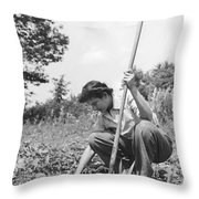 Wwii Victory Garden Throw Pillow