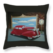 Wyandotte Lasalle Throw Pillow