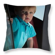 Wyatt Portrait 3 Throw Pillow