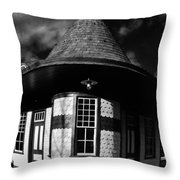 Wycombe Train Station Throw Pillow