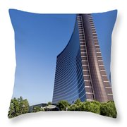Wynn And Encore Hotels  Throw Pillow