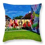 Wynwood Lawn Throw Pillow