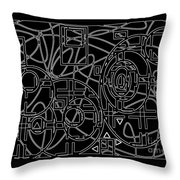Imagine / Wyobrazaj  Throw Pillow