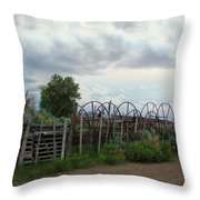 Wyoming Backroads 2 Throw Pillow