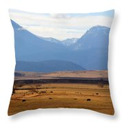 Wyoming Beauty Two Throw Pillow