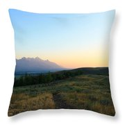 Wyoming Landscapes Throw Pillow
