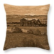 Wyoming West Throw Pillow