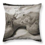 X File Evidence Collector Art Throw Pillow