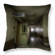 X Ray Waiting Room. Throw Pillow