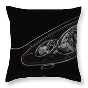 Porsche 2 Throw Pillow