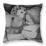 Xander Sleeping Throw Pillow