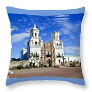 Xavier Tucson Arizona Throw Pillow