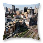 Xcel Energy Center St. Paul Minnesota Throw Pillow