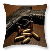 Springfield Armory Xdm-40 Throw Pillow