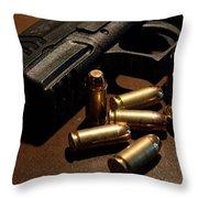 Springfield Armory Xdm Throw Pillow