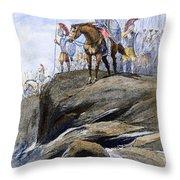 Xenophon Anabasis Throw Pillow