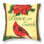 Xmas Around The World 1 Throw Pillow