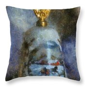 Xmas Bell 02 Photo Art Throw Pillow