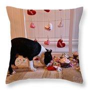 Xoxoxo's Throw Pillow