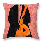 Xtra Large Sax Throw Pillow