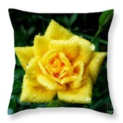 Y-rose Throw Pillow
