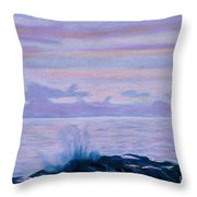 Yachats Throw Pillow