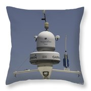 Yacht Radar Throw Pillow