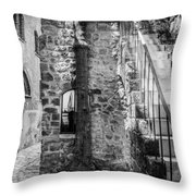 Yafo Alley Throw Pillow