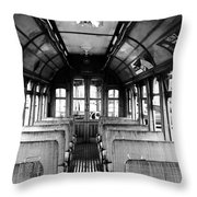 Yakima Trolley Throw Pillow