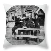 Yale Students, C1890 Throw Pillow